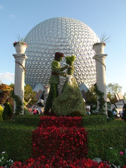 The Epcot Flower and Garden Festival 2013