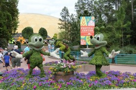 2013 Epcot Flower and Garden Festival features topiaries and far more
